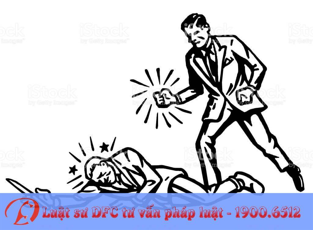 Tội đánh người gây thương tích bị xử lý như thế nào?