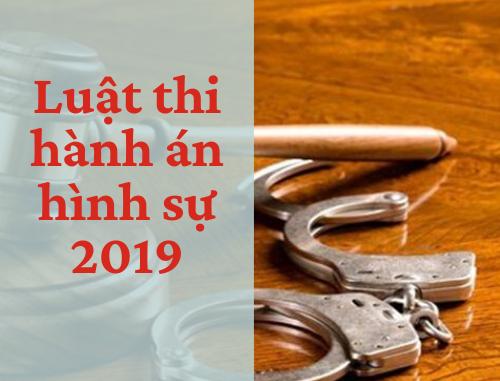 Luật thi hành án hình sự 2019